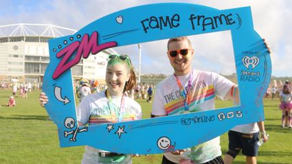 The Color Run 2016 Fame Frame Photos