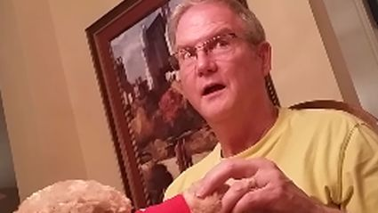 Man's Adorable Reaction to Finding Out He's Going to Be A Grandad