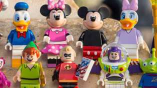 Your Fave Disney Characters Are Now LEGO