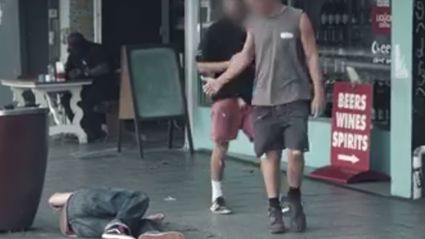 NZ Police Release Social Experiment Video - Would You Help This Man?