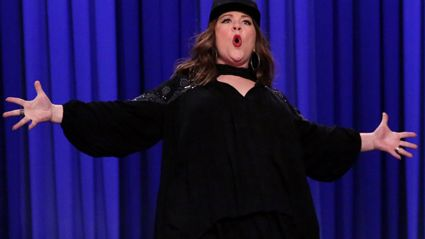 Melissa McCarthy Crushes Jimmy Fallon in Lip Sync Battle