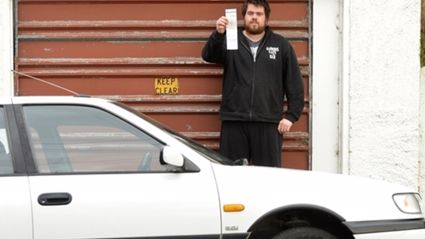 Todd Treweek says he can't fathom why wardens keep issuing tickets instead of talking to him. Photo / Otago Daily Times