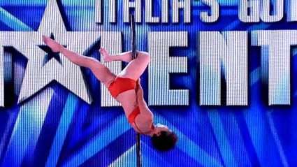 This 70 Year Old Woman Absolutely Nails A Full Pole-Dancing Routine