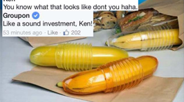This Groupon Employee's Responses to Suggestive FB Comments Are Perfect