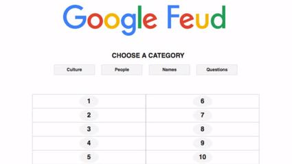 GOOGLE FEUD: This Game is So Much Fun