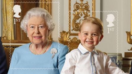Someone Face Swapped the Queen and Prince George and It's Creepy