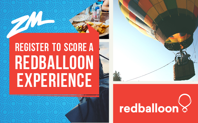 WIN With RedBalloon