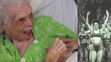 102-Year-Old Dancer Watches Herself on Film For the First Time