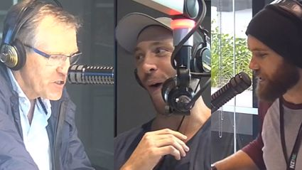 Vaughan Goes Up Against Peter Williams in A Tongue Twister Challenge