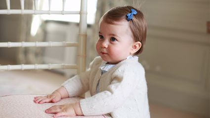 CUTE ALERT!! New Photos of Princess Charlotte for Her First Birthday