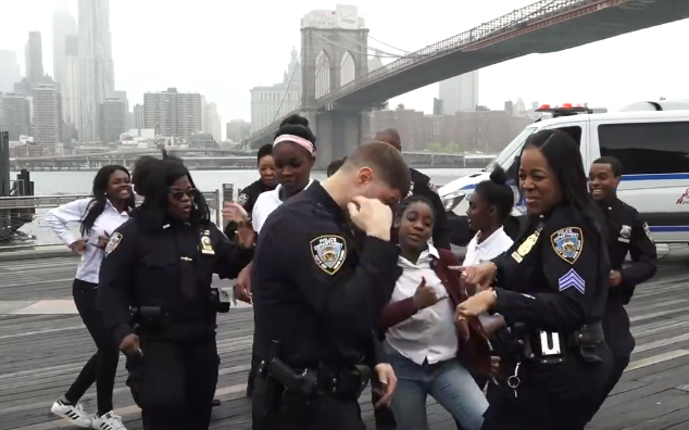NYPD Have Replied To NZ Police's 'Running Man Challenge'
