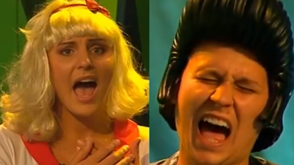 Watch Guy and Georgia Partake in A Lip Sync Battle on The Adam and Eve Show