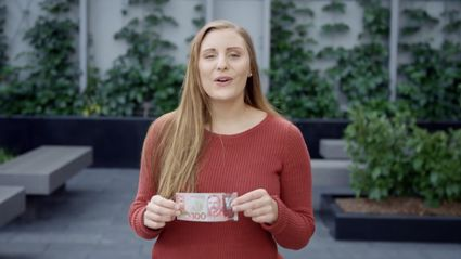 Guy And Georgia Introduce The New $100 Note