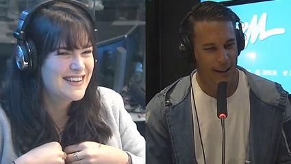 Producer Caitlin Gets Flustered By Jeremy Wells