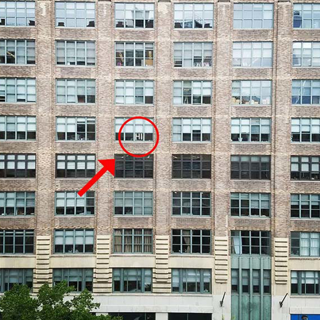 "Everything started with an innocent ""HI"" on the 6th floor at 75 Varick Street in NYC"