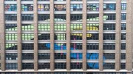 Watch These NYC Buildings Embark On The Most Epic Post It War Ever