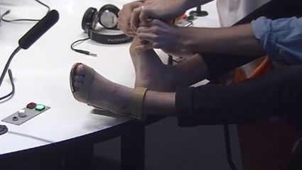 Producer James is Forced into Heels As Part of Megan's Life Hack