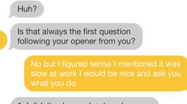 Man Goes Psycho at Woman Who Asked What He Did For A Living on Dating App