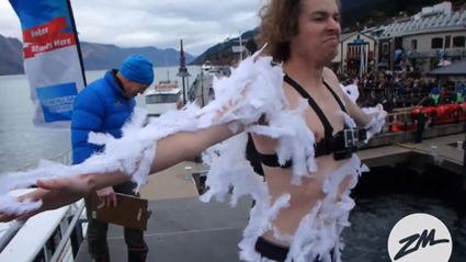 FVM Make Producer James Jump Into Lake Wakatipu
