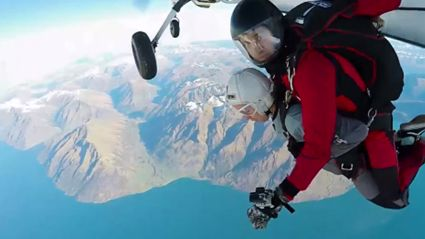 FVM Make Producer James Jump Out Of A Plane