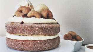 Yes, There is Such Thing As A Donut Cake!