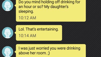 Guy Shares Texts From Psycho Neighbour Who Complains About Every Sound