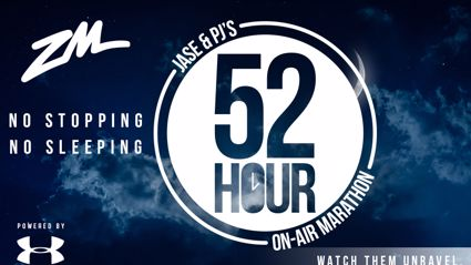 Jase & PJ Announce Their 52 Hour On Air Marathon