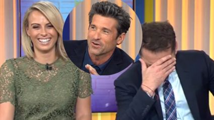 Patrick Dempsey's Erection Embarrassment on Live TV