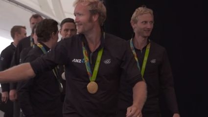 EXCLUSIVE: We Welcome Home Our Olympians!