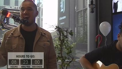 Stan Walker Performs His New Track FOR THE FIRST TIME