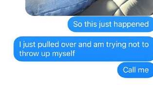 Dad's Frantic Vomit Texts to His Wife Go Viral