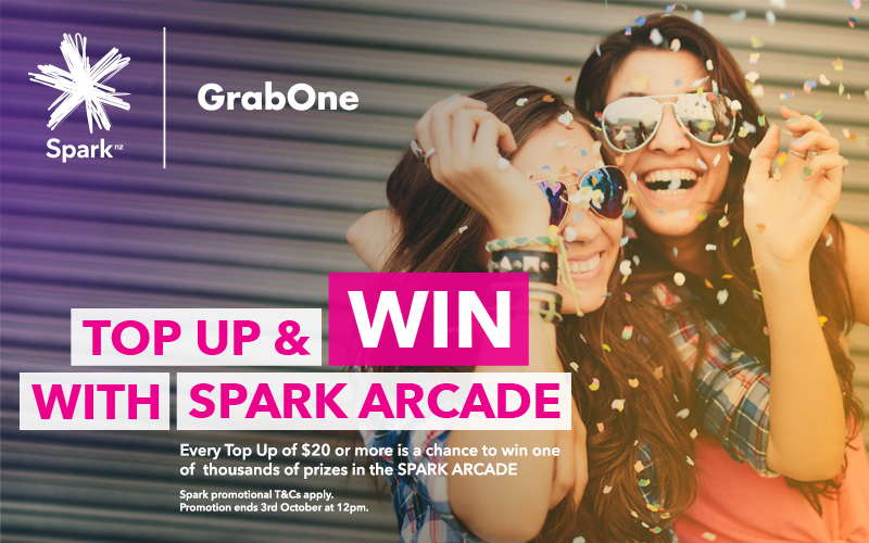 Top Up and Win With Spark Arcade