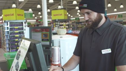 Vaughan Fails Pretty Spectacularly During His 'Checkout Champs' Training