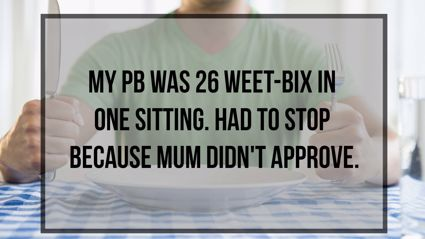 What Was Your Food PB?