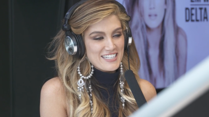 Guy and Georgia Chat To Delta Goodrem