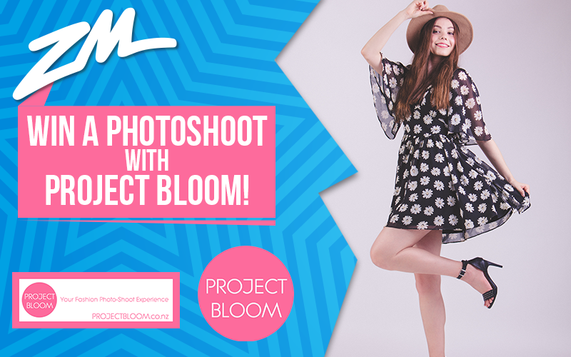 WELLINGTON - Win A Photoshoot with Project Bloom!