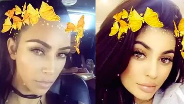 Why The Butterfly Snapchat Filter Makes You Look So Good