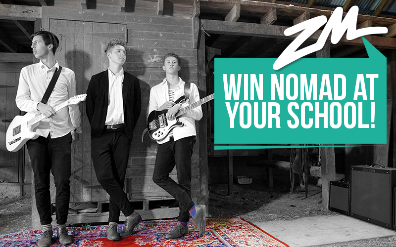 CHRISTCHURCH - WIN Nomad At Your School!