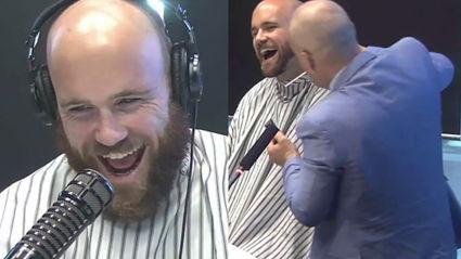 RIP Beard. Vaughan Makes Major Facial Hair Change!!