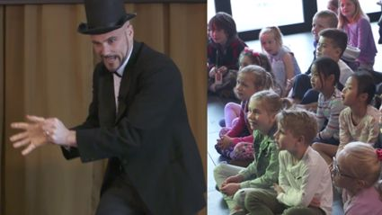 WATCH El Vaughano The Magnificent's First Magic Show