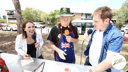 Aussie Paul Cooks Kangaroo For Jase & PJ