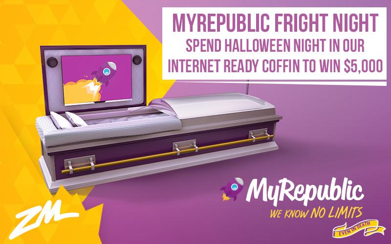 Win $5,000 With The MyRepublic Fright Night