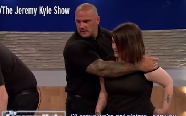 Jeremy Kyle Gets Knocked to the Ground By Fighting Sisters on Show