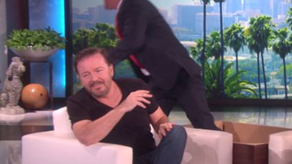 Donald Trump Scares the Sh*t Out of Ricky Gervais Thanks to Ellen