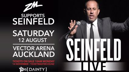 ZM Supports Jerry Seinfeld LIVE