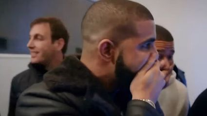 Watch Drake Nearly Throw Up As He Watches Magic Trick