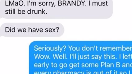 Girl gives out fake number to guys; the guy who owns the number is a massive troll