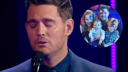 Michael Buble's incredibly emotional performance following his son's cancer diagnosis
