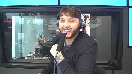 James Arthur Calls Local Radio Station and Requests His Own Song