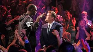 Usain Bolt absolutely destroys James Corden in 'Drop the Mic' rap battle